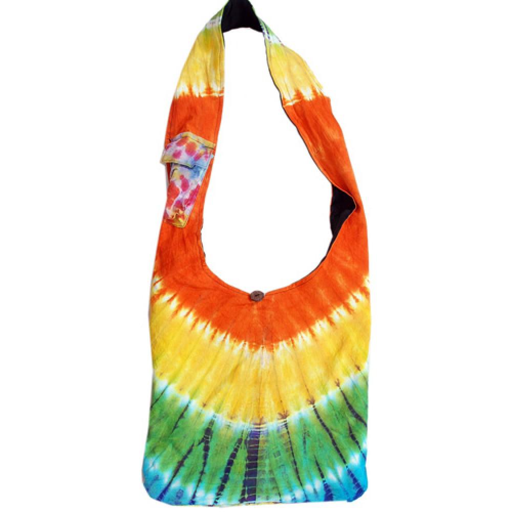 Tie Dye Shoulder Bag