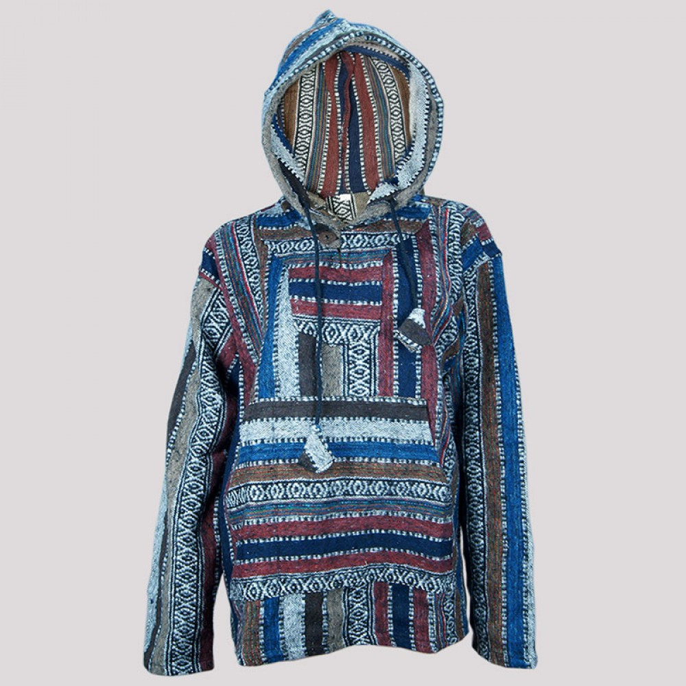 Hooded Baja Pullover