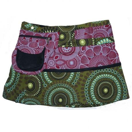 Printed Himlayan Hippie Cotton Skirt