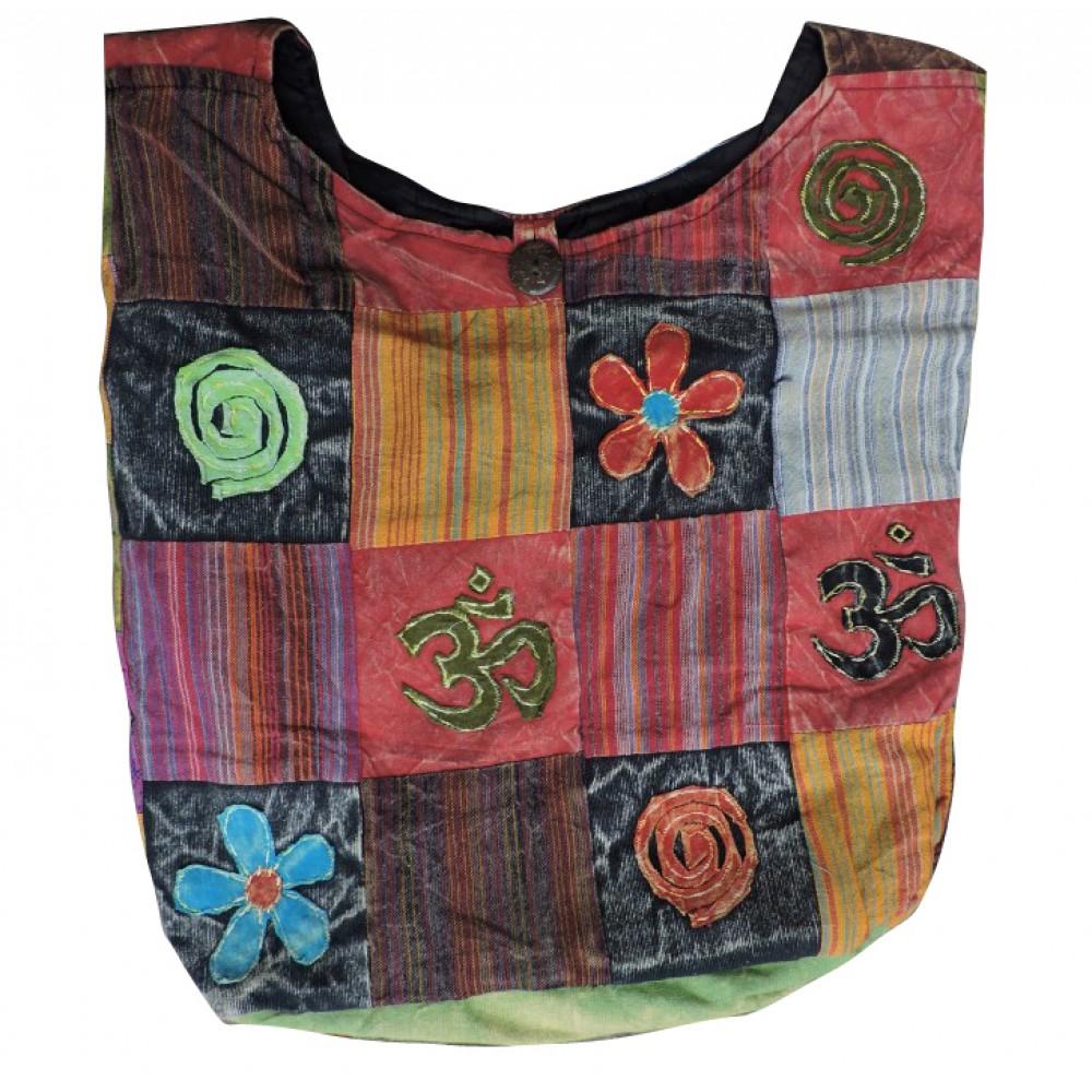 Hippie Shoulder Cross Body Cotton Bag