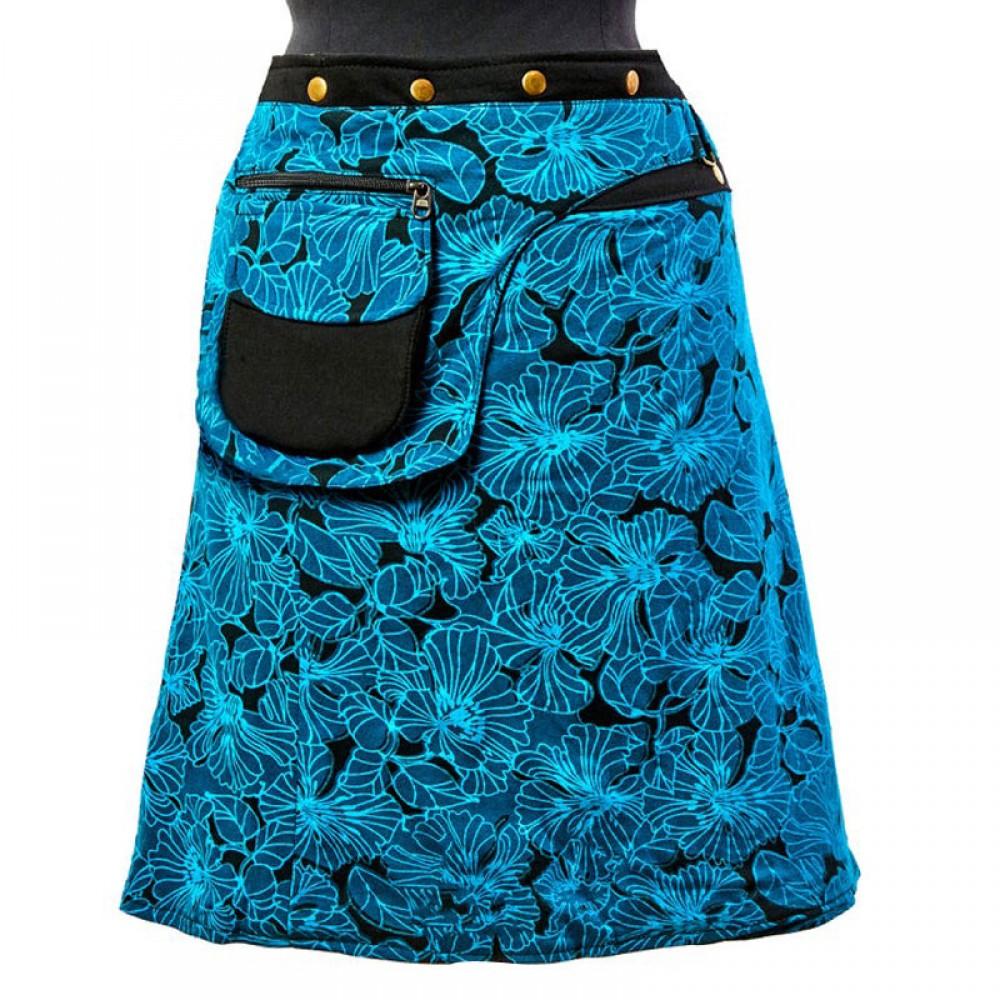Reversible Hippie Cotton Skirt
