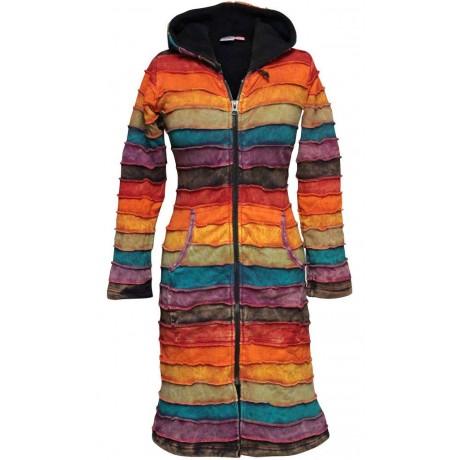 Formal Rib Cotton Coat