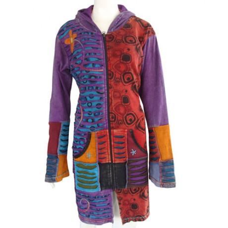 Foxy Rib Cotton Coat