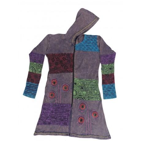 Slight Rib Cotton Coat
