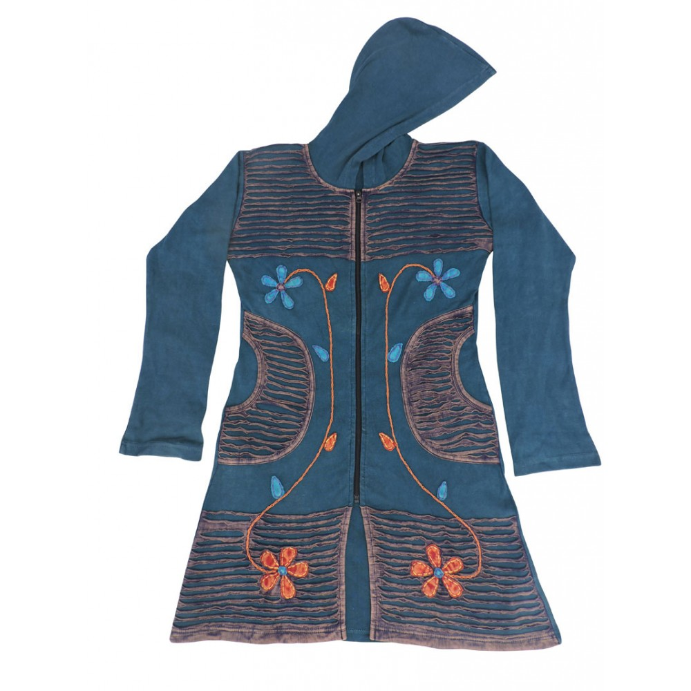 Fair Rib Cotton Coat