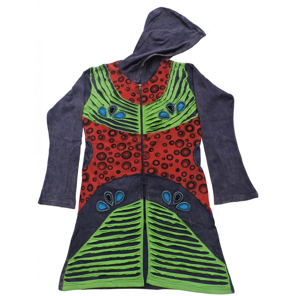 Auspicious Rib Cotton Coat
