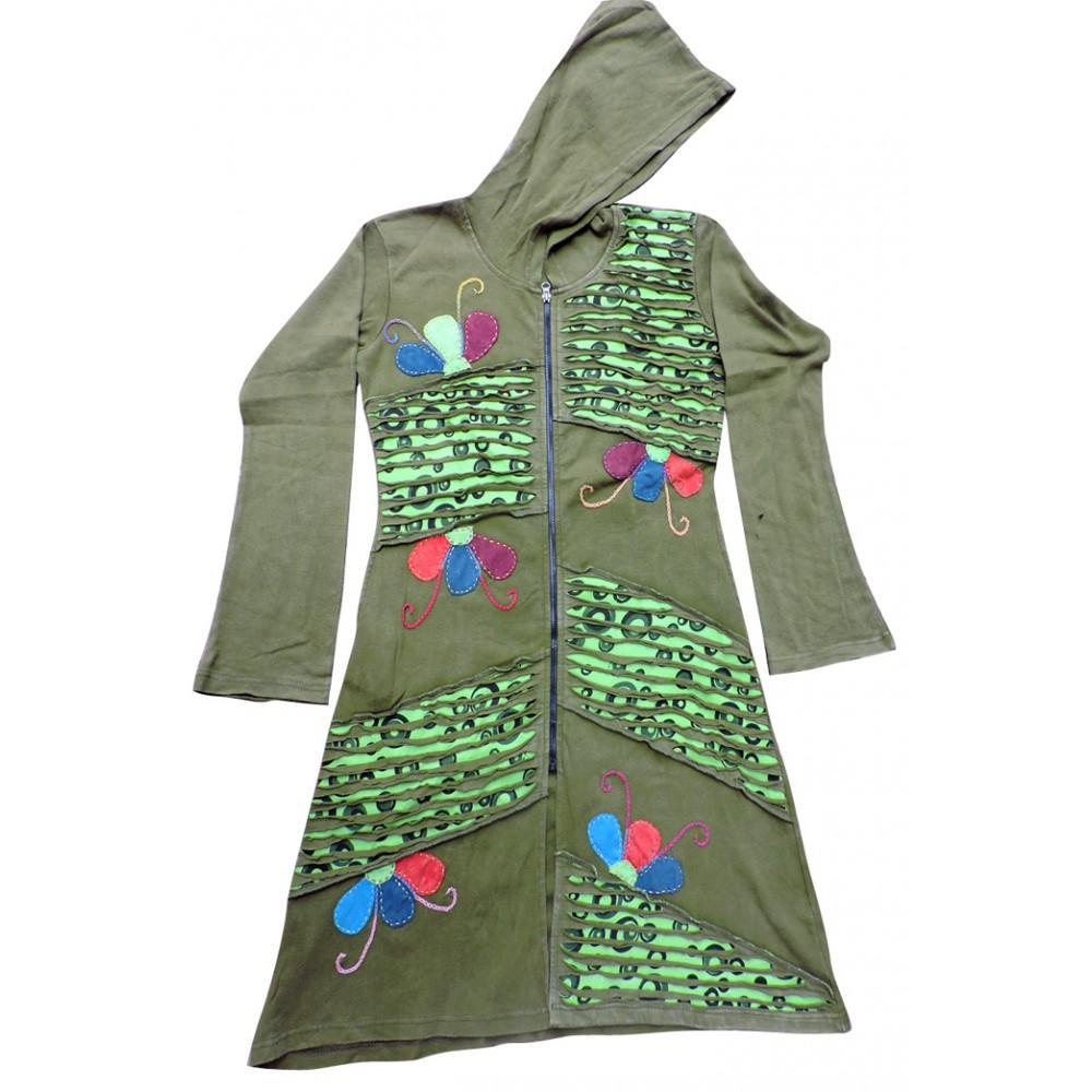 Snazzy Rib Cotton Coat