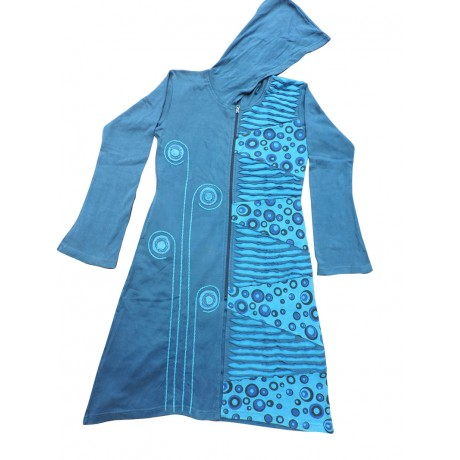 Soft Rib Cotton Coat