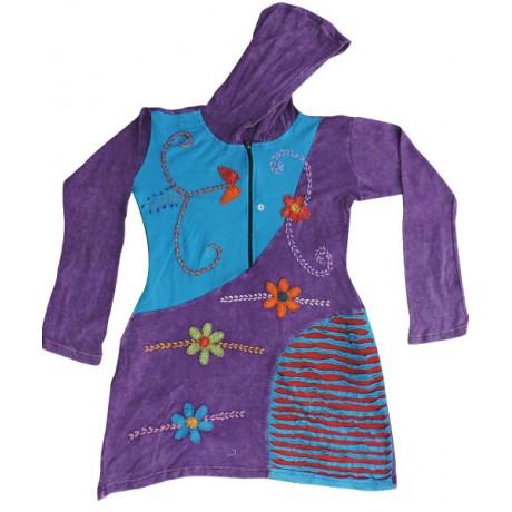 Neat Rib Cotton Coat