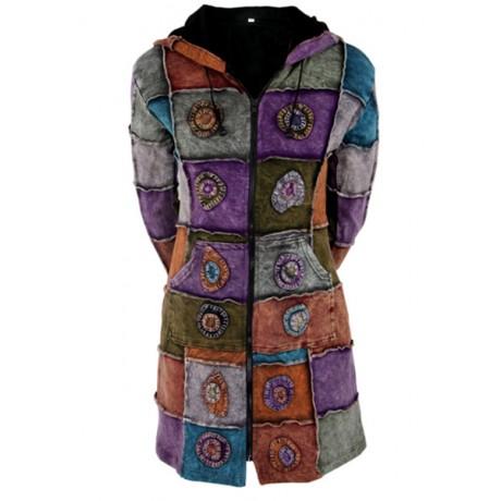 Lovely Rib Cotton Coat