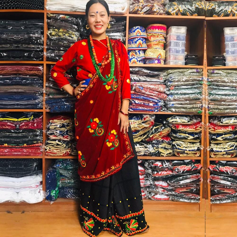Gurung Dress Set