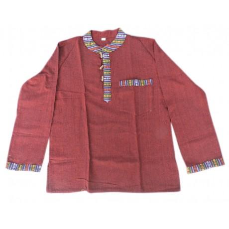 Light Red Tamang Shirt