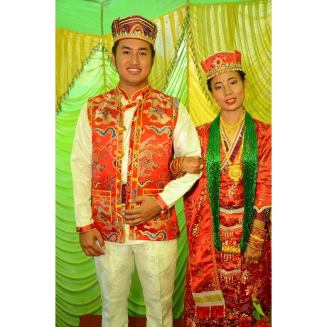 Tamang Wedding Dress set