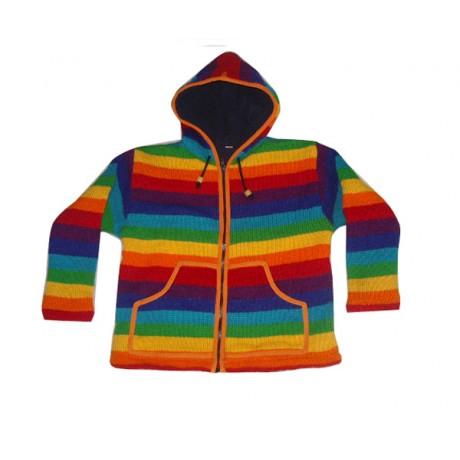 Color Mix  Woolen Jackets