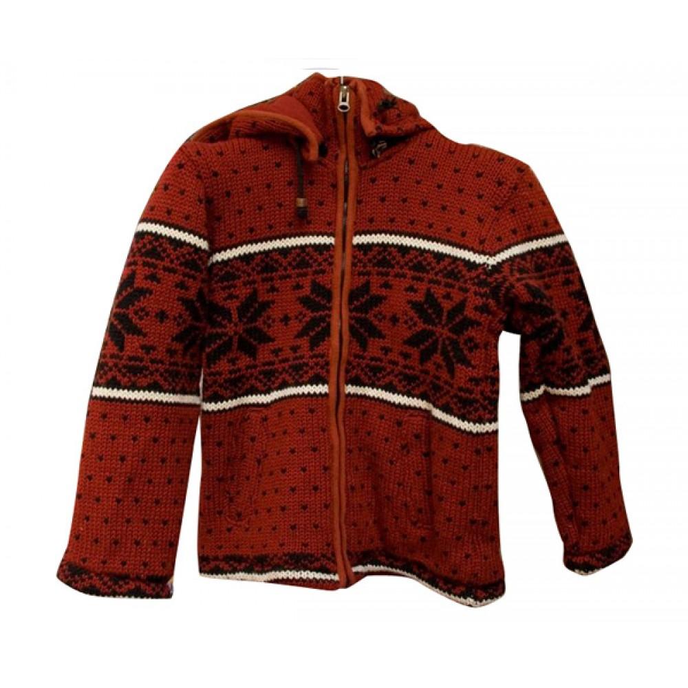 Maroon Woolen Jackets