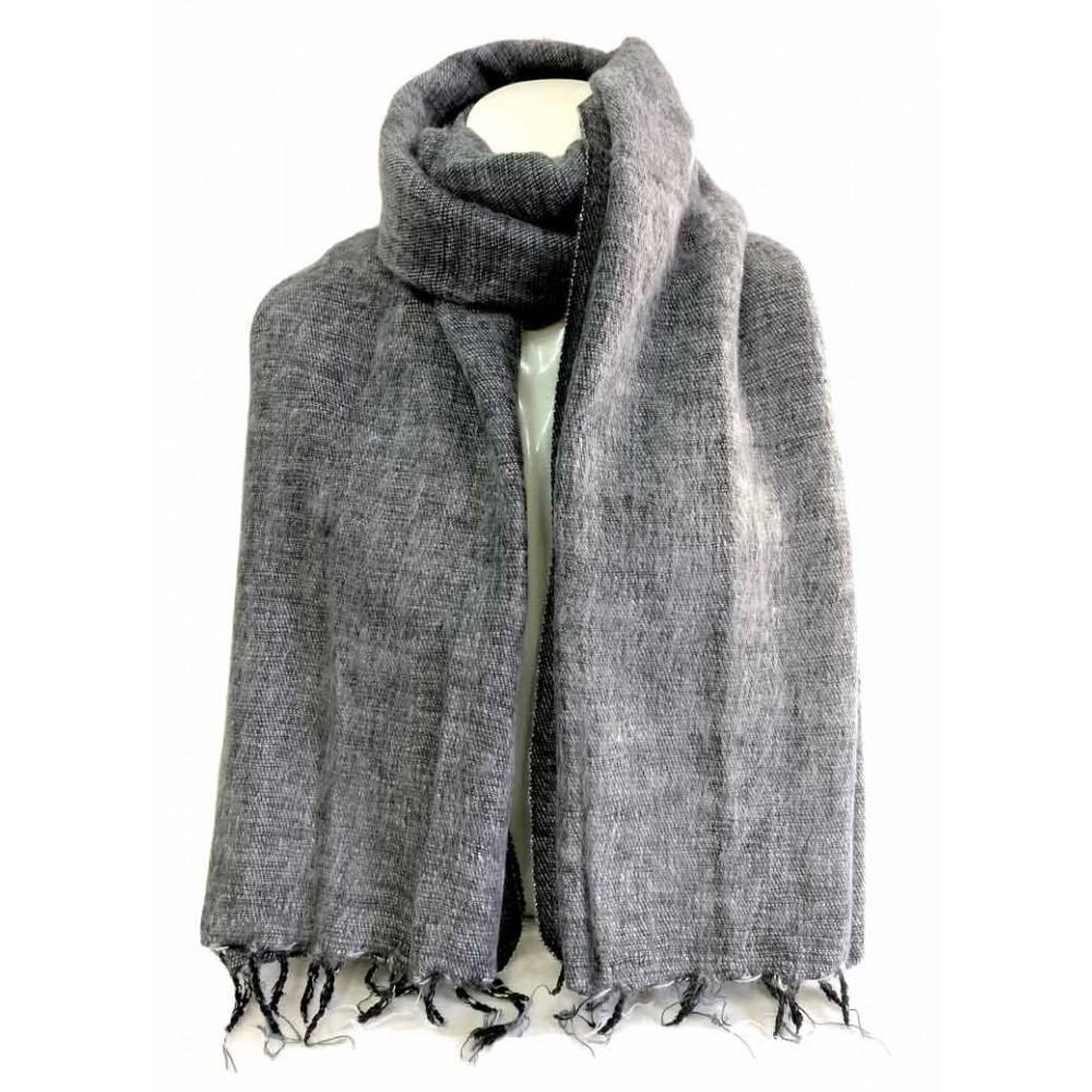 Handmade Woolen Plain Shawl