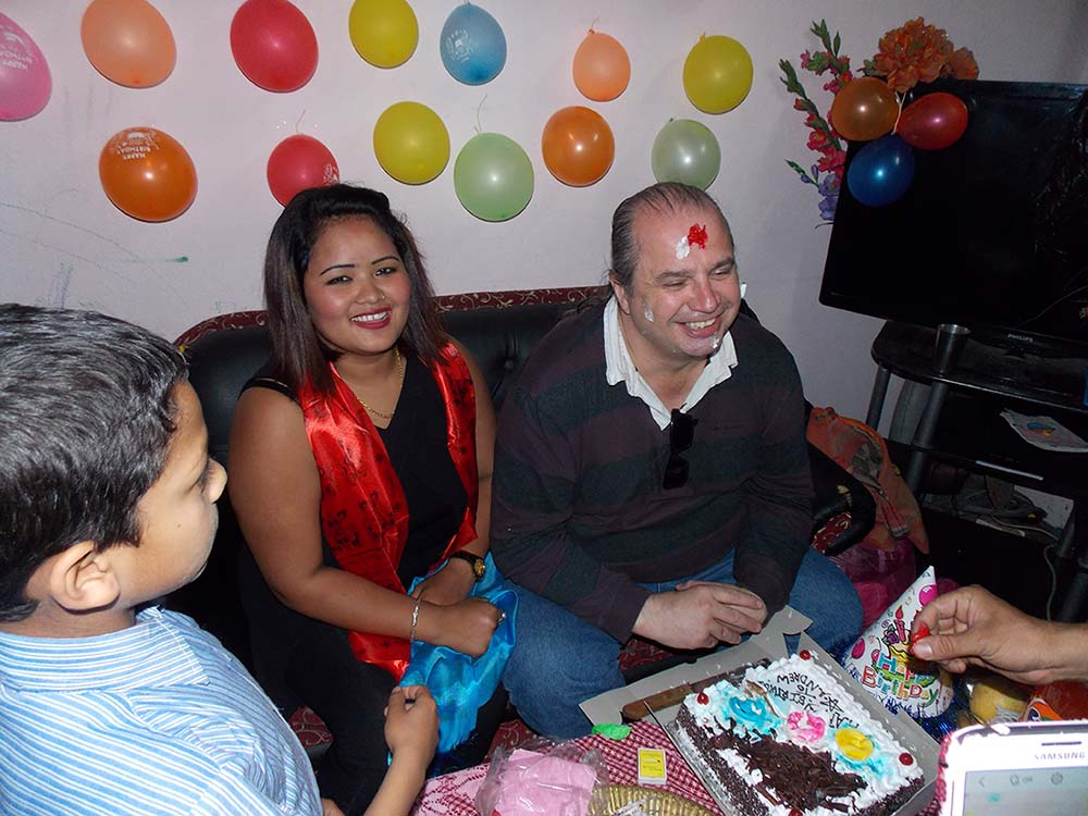 Our Customer Celebrating Birthday in our Company
