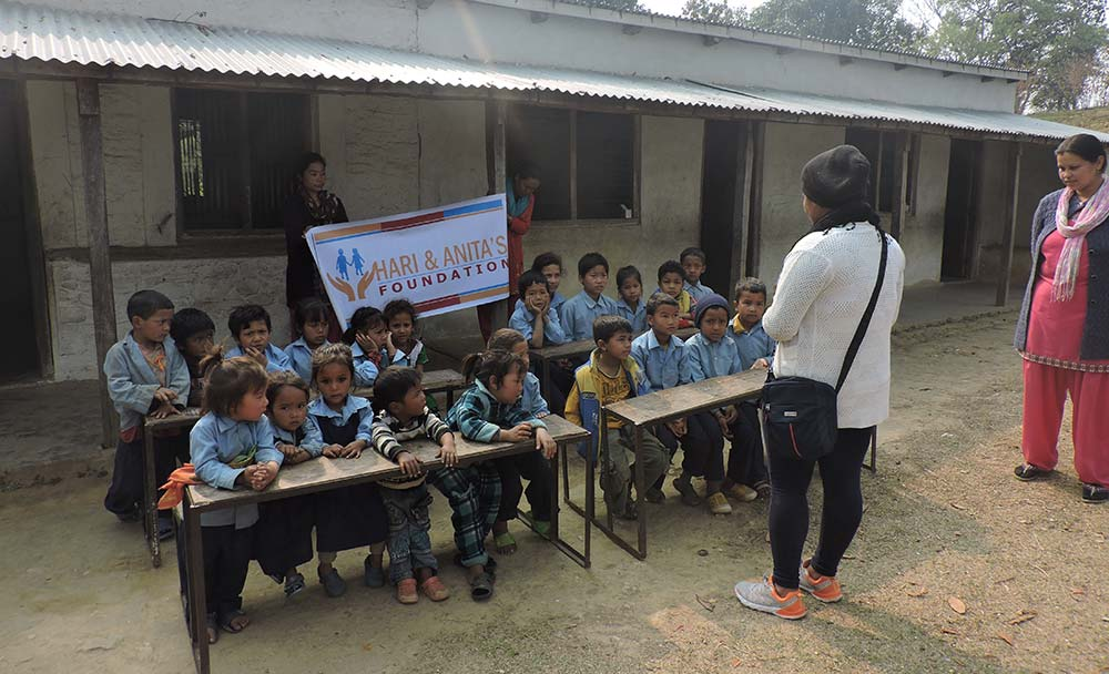 Clothing in Nepal Social Work